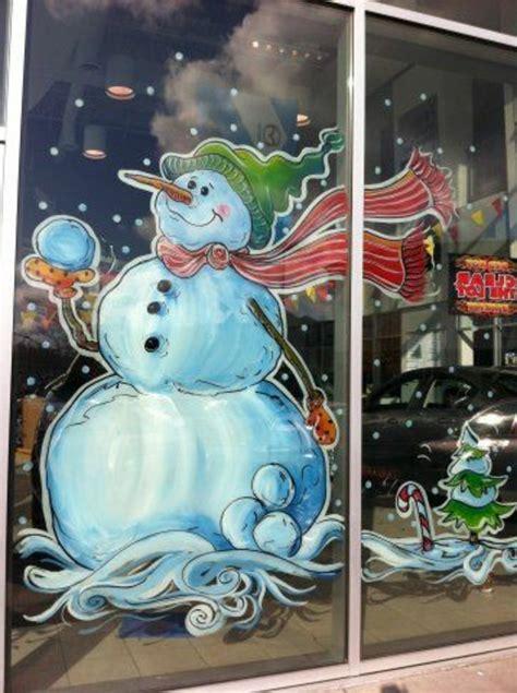 Fensterdeko Weihnachten Malen by Feine Fensterbilder Zu Weihnachten Und Winterzeit