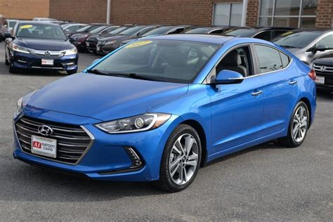 Used 2013 hyundai elantra gls for sale clean carfax, one owner, low miles, new front brakes, new rear brakes, 2 keys, heated front seats, air. 2017 Used Hyundai Elantra Limited 2.0L Automatic at A-1 ...