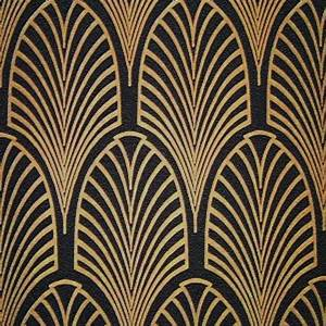 Art Deco Fabric Manipulation