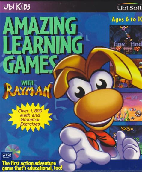 Amazing Learning Games With Rayman For Windows (1996