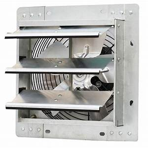 Iliving 600 cfm power 10 in variable speed shutter for Plug in bathroom exhaust fans