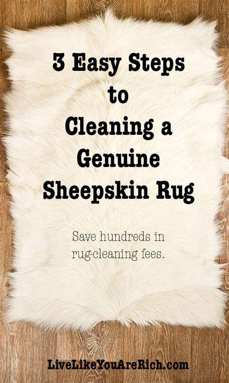 home interior design steps 3 easy steps to cleaning a genuine sheepskin rug live