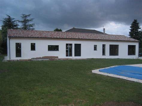 maison ossature bois drome maison ossature bois enduite de plain pied 224 malissard dans la dr 244 me os 233 bois