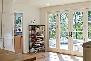 Kitchen French Doors - Traditional - Kitchen - Louisville