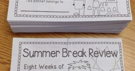 Great Free Summer Review Book!  The Teacher In Me  Pinterest  Summer, Books And Free