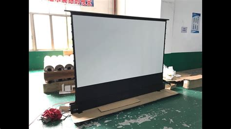 120 inch Home Theater Electric Floor Rising Projector