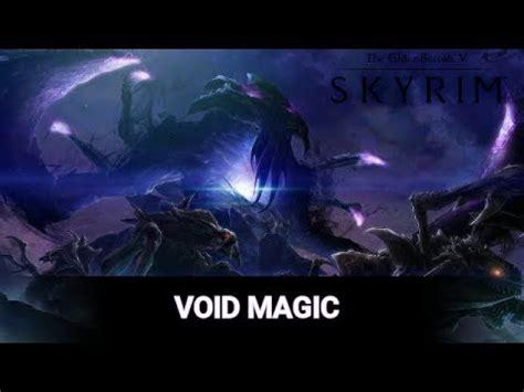 skyrim mods void magic ps youtube