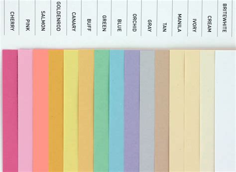colored card stock paper domtar colors earthchoice cover 8 5 x 11 card stock