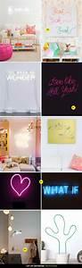 Neon Deco Chambre : cr ation n on cr ations bricolage diy d co et deco ~ Melissatoandfro.com Idées de Décoration
