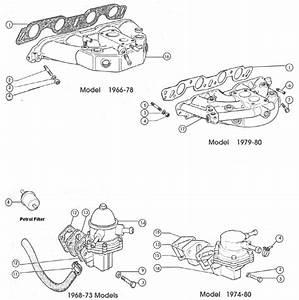 Fiat 124 Inlet Manifold  U0026 Fuel Pump