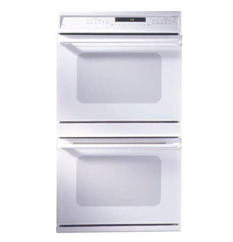 zetwaww ge monogram  american design white double convection wall oven monogram