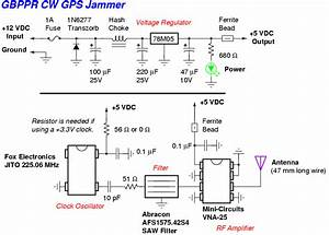 Simple Cw Gps Jammer