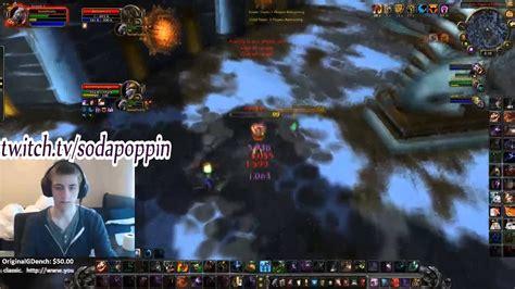 sodapoppin world  warcraft  arena youtube