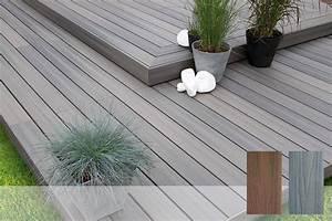 Lame De Bois Pour Terrasse : lame en bois composite fiberon xtrem pour terrasse ~ Premium-room.com Idées de Décoration