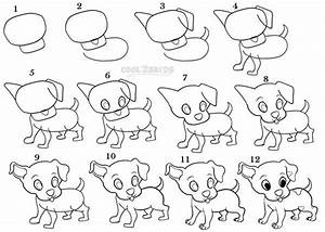 How To Draw a Puppy Step by Step Drawing Tutorial with ...