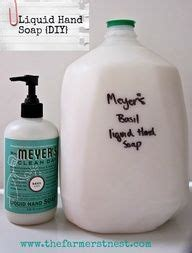 diy cleaning products    liquid hand soap