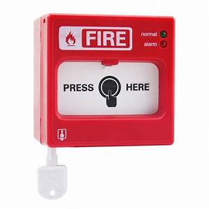 China Asenware Conventional Fire Alarm Manual Call Point
