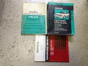 1989 Toyota Celica Service Repair Shop Workshop Manual Set
