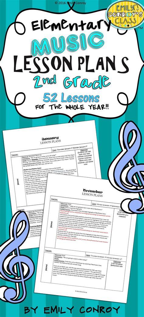 2nd grade lesson plans set 1 ideas