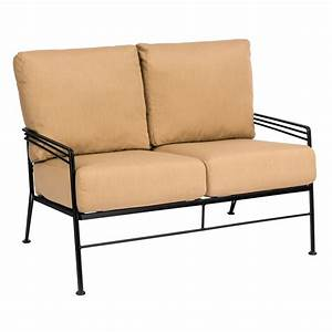 patio loveseat alera rl loveseat reception lounge series With glenlee patio furniture covers