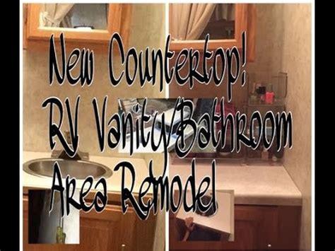Rv Bathroom Vanity by Rv Bathroom Vanity Re Do