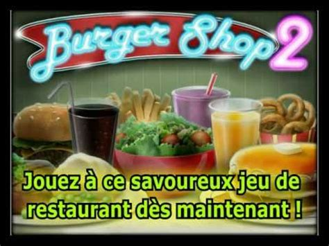 burger shop 2 bande annonce du jeu jeu de cuisine