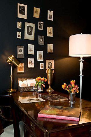 farrow  ball pitch black  interiors  color