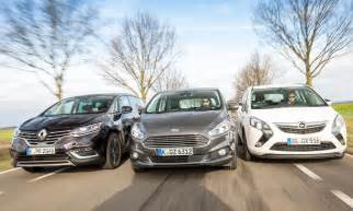 Ford Opel by Ford S Max Opel Zafira Renault Espace Test Autozeitung De