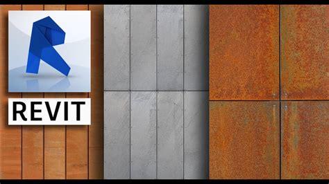 create  apply  panel material  revit revit news