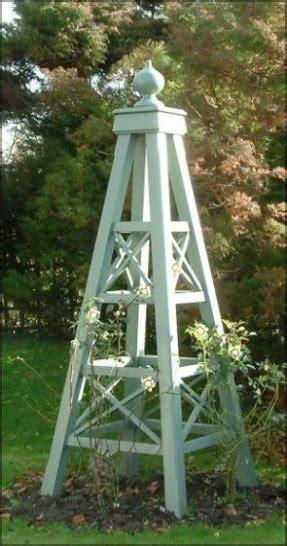 garden obelisk trellis foter