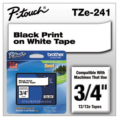 american paper twine  brother p touch tze series