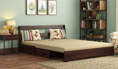 buy della sofa cum bed  armrests   india