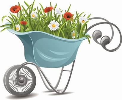 Gardening Garden Tools Clip Clipart Vector Flower