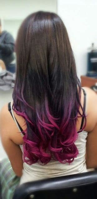 Colorful Tips Dip Dyed Hair In 2019 Gorgeous