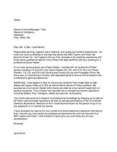 casino dealer resume dealer cover letter
