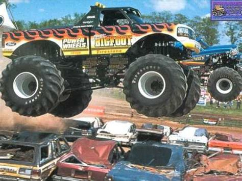 power wheels bigfoot monster truck bigfoot power wheels theme song youtube