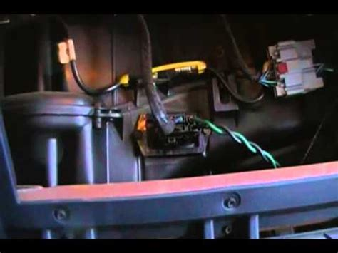 change  blower motor resistor  dodge