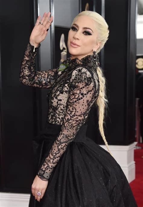 lady gaga    grammys popsugar celebrity