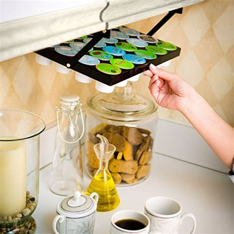 coffee cup holder under cabinet coffee keepers under cabinet k cup holder 608938498274