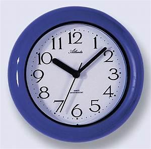 atlanta 454 5 wall clock bathroom clock new With bathroom clock uk