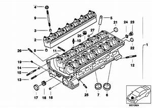 Original Parts For E60 530i M54 Sedan    Engine   Cylinder Head
