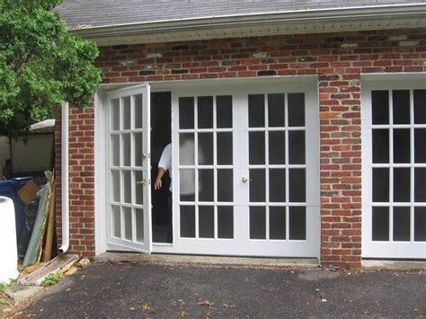 convert garrage door to windows garage conversion brick exterior affordable garage door glass with one swing door and