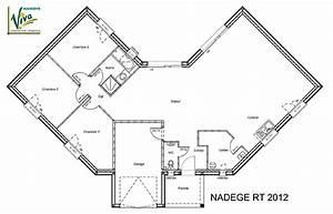 Plan Maison 6 Chambres : plan maison en v avec etage 6 garage ~ Voncanada.com Idées de Décoration