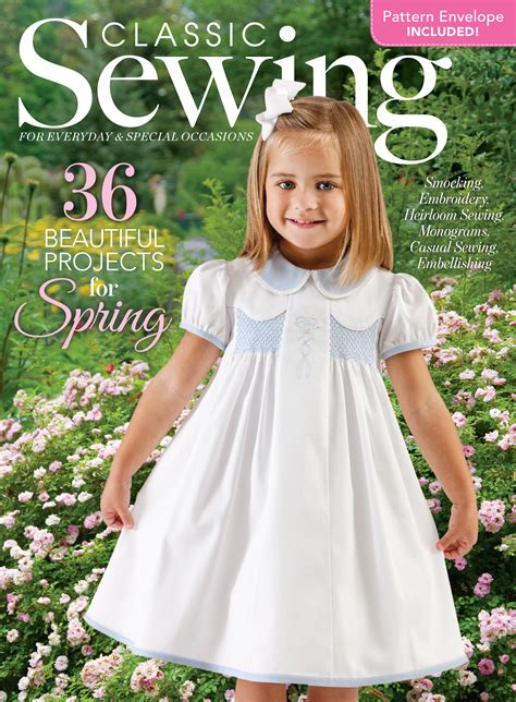 classic sewing spring  downloads classic sewing magazine
