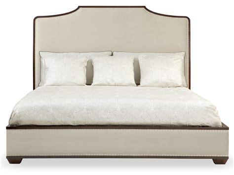 king leather headboard upholstered bed bernhardt