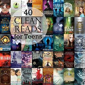 Author Robin King, Blog: 40 Clean Reads for Teens