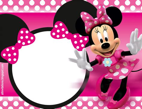 la cuisine de minnie invitación de minnie mouse all invitations