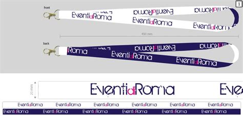 Laccetti Porta Badge by Laccetti Porta Badge Laccetti Personalizzati Portabadge