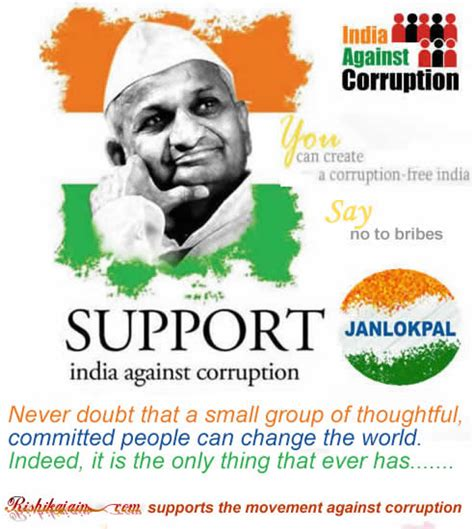 Funny Quotes On India Against Corruption
