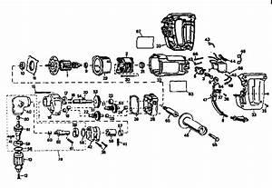 Dewalt 1  2 U0026quot  Right Angle Drill Parts